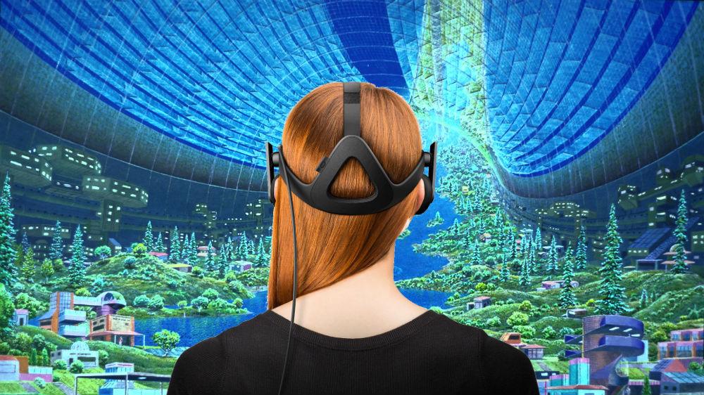 Virtual-Reality-Girl-Imagination
