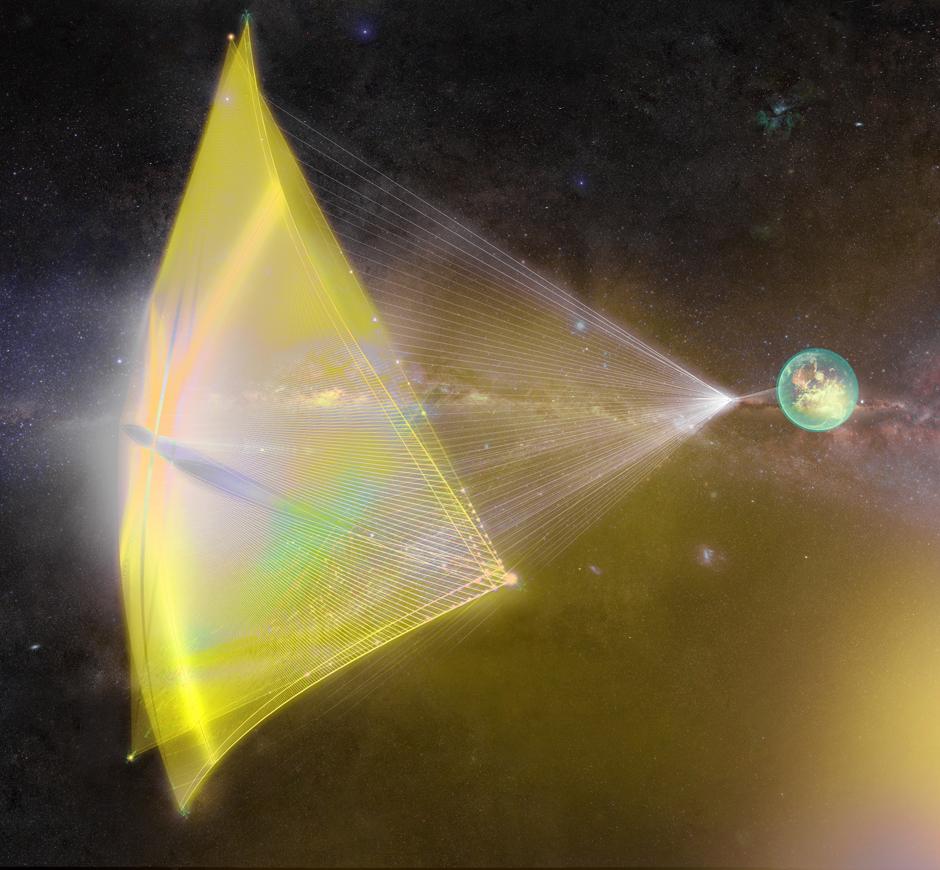 Breakthrough-Starshot-nanocraft-Alpha-Centauri-light-beams-sails-futuristech