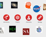 Geekwrapped has put together a great list of the best youtube science channels