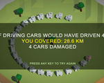 Need a simple way to show a friend how efficient autonomous cars are this game is your answer