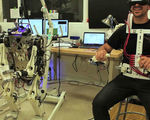 Hermes robot human like reflexes responds in real time