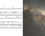 Astronomer creates an interesting song using the pulsating vibration sound of a star