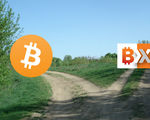 The btc cryptocurrency world is the midst of a big fork in the road with bitcoin xt allegations