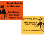 Bail ins are in place in the uk  eu  and us all deposits are subject to potential %e2%80%98haircuts%e2%80%99 involving any major bank failure