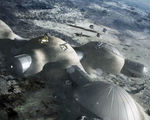 Esa and roscosmos have partnered up to plan a future moon base