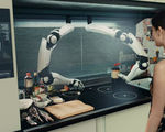 Video meet moley the spectral robotic arms that can cook and clean for you