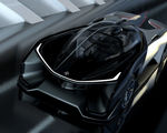Video faraday future's concept car one seater batmobile autonomous vehicle