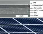 Perovskite solar cells see increased efficiency of 25  in the lab   essentially doubling efficiency for future cells