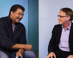 Video skeptical neil degrasse tyson questions ray kurzweil about our upcoming future