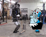 Video atlas robot tries clean things up imagine what it will be able to do 10 years from now