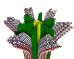 Hybrid polymer utilized artificial muscles drug delivery self repairing materials