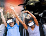 Riding roller coasters virtual reality coming six flags video