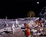 Colonizing moon 10 billion dollars 2022 colony