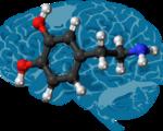 Implantable chip measure alter dopamine levels brain