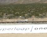 Hyperloopone hyperloop one public test sand