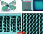3d photonic gyroid nanostructures optoelectronic photonics optic technologies