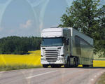 Video future trucks thermoelectric generation additional power source save fuel