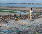 Plastic bags bottles trash clean diesel fuel pollution