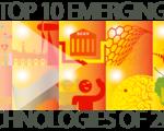 Top 10 emerging technologies 2016 wef world economic forum