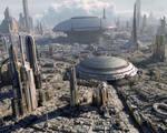 Housing trillions people mega city entire surface area planet earth ecumenopolises