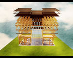 Open source system build affordable modular home aquaponic greenhouse sustainable future