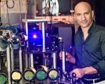 Lab created analogue black hole detects hawking radiation