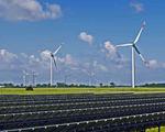 Solar wind power energy supply current energy needs demands