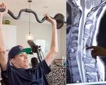 Stem cell therapy paralyzed man use arms hands again