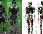 Sweating robots efficiently cools itself like human