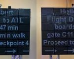 Parallel reality display will let up to 100 people see their own travel info in their language on the same display